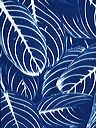blue and white image of striped foliage