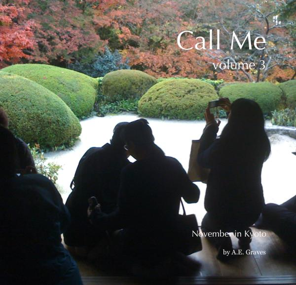 cover of book Call Me volume 3, a phone photo journal