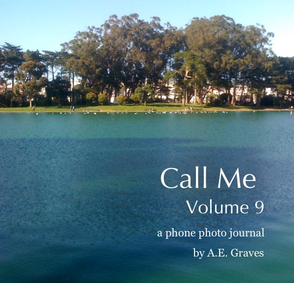 cover of book Call Me volume 9, a phone photo journal