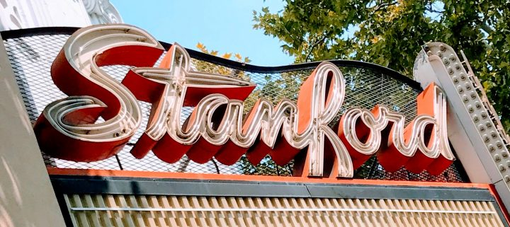 Neon Sign of Stanford Theater